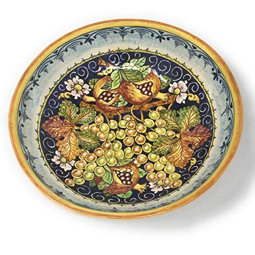 CERAMICHE D'ARTE PARRINI - Italian Ceramic Serving Bowl Centerpieces Art Pottery Dishware Made in ITALY Tuscan