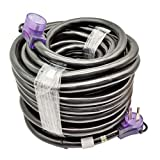 Parkworld 60110 RV 50A Extension Cord, NEMA 14-50 Extension Cord, 14-50P to 14-50R (100FT)
