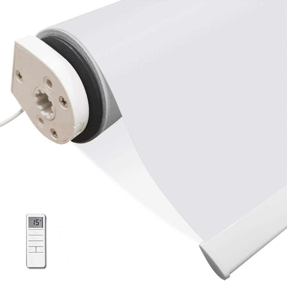 Motorized Window Blinds Shades White Wireless Control Remote Ranking integrated 1st place an outlet