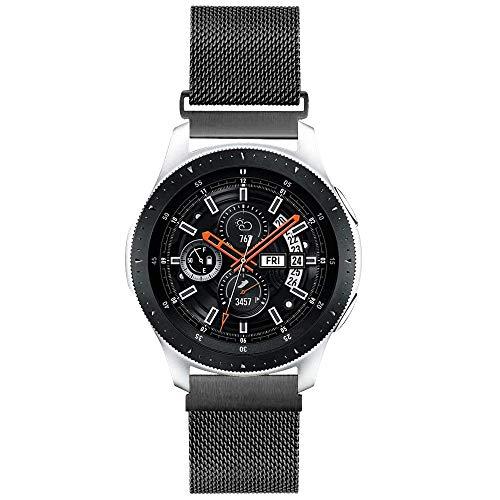 Younsea Cinturino Gear S3 Frontier/Classic/Galaxy Watch 46mm Cinturino, 22mm Braccialetto di Ricambio in Acciaio Inossidabile Metallo Cinturino per Gear S3/Moto 360 2nd Gen 46mm