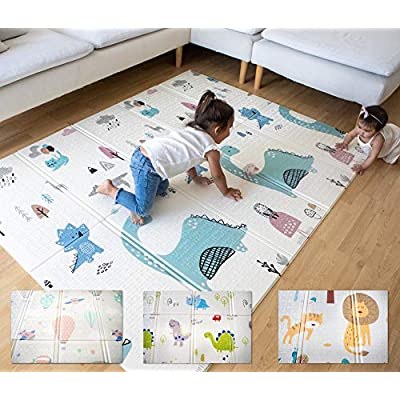Easy Mat Extra Large Foldable Kids Play Mat Ani...