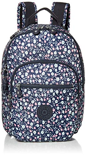 Kipling Women's Seoul Small Backpack, Floral Rush, One Size