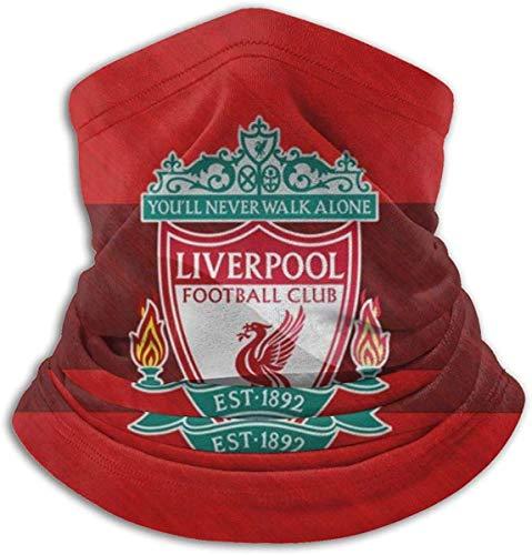 RJin92 Liverpool Football FC Mikrofaser-Halswärmer Modeschutz gegen Staub, geschützt vor UV-Strahlen der Sonne