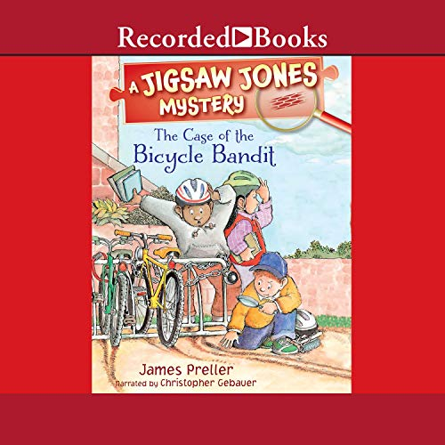 The Case of the Bicycle Bandit cover art