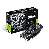 ASUS Geforce Dual GTX 1050 Ti 4GB Dual-Fan Edition V2 DVI-D HDMI DP Gaming Graphics Card (DUAL-GTX1050TI-O4G-V2)