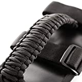 Rugged Ridge 13505.30 Black Paracord Grab Handle Kit for 55-current Jeep CJ/Wrangler/Gladiator