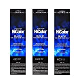 L'Oreal Excellence HiColor H23 Black Plum Permanent Hair Tint HC-30655 (3 Pack)