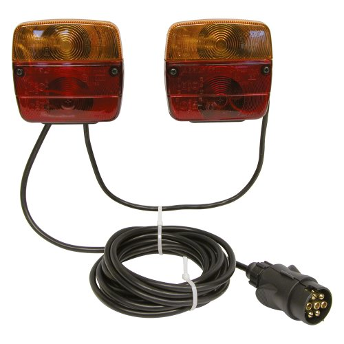 Carpoint 0404101 Kit d'Éclairage Magnétique en Vrac