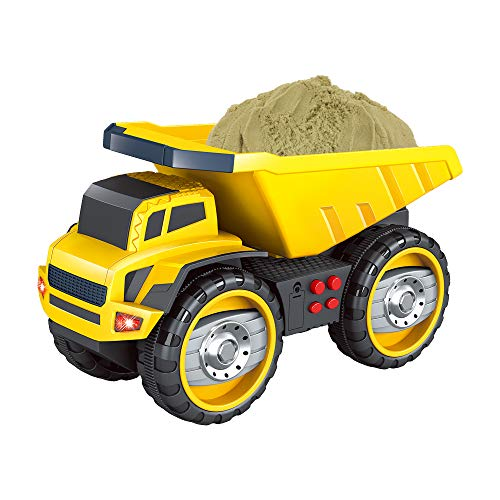 baby 1st Camión de Juguete de construcción Modelo Grande Juguetes para niños y niñas – Camiones para niños de 2 3 años +