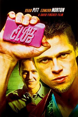 Theissen Fight Club Poster Borderless Vibrant Premium Movie Poster – Matte Poster Frameless Gift 11 x 17 pouces (28 x 43 cm)*IT-00116