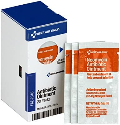 First Aid Only FAE 7040 SmartCompliance Refill Antibiotic Ointment 20 Count product image
