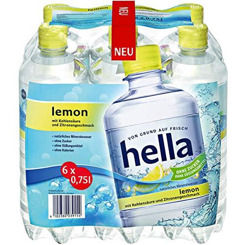 Hella Lemon, 6er Pack (6 x 0.75 l) EINWEG