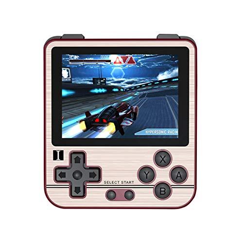 BSTQC RG280V Consola de juegos de mano clásica retro jugador de juego de 2.8 pulgadas, pantalla IPS reproductor de música y vídeo, regalo de cumpleaños para niños y adultos consola de juegos
