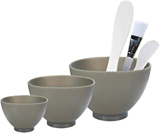 Appearus Facial Mask Mixing Bowl Set - Professional Spa Face Mask Mixing Tool (Dark Gray)