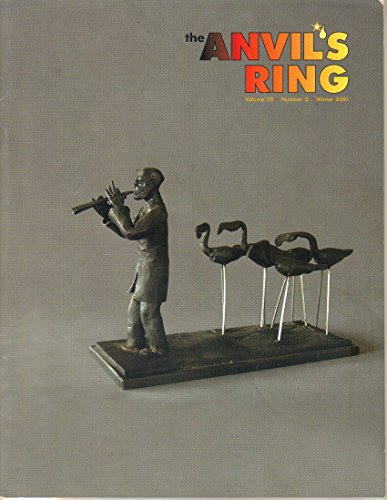 THE ANVIL'S RING Winter 2001 Volume 28 Number 3 (Magazine. Anvils Ring. Blacksmiths. Magazine of Artist-Blacksmith's Association of North America. Forging. Abana. Ferro 2000. Fish Sculptures.)