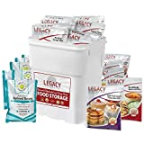 Legacy Emergency Food Ultimate Sample Pack - Survival Supply - 183 Large Servings: 34 Lbs - Breakfast, Lunch, Dinner, Sides & Drinks - Freeze Dried Storage Readiness Meals