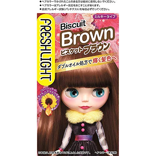 Fresh Light Hair Color - Biscuits Brown