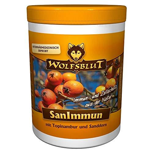 Wolfsblut | SanImmun | 500 g | Topinambur und Sanddorn | Futterzusatz | Hundefutter | Ergänzungsmittel