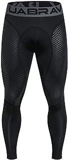Xmiral Tight Compression Pantaloni Funzione Baselayer Pantaloni da Corsa Uomo Lunga