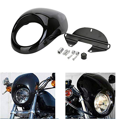 Scheinwerferblende Verkleidung Abdeckung für Harley Sportster Dyna