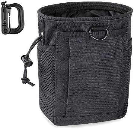 LIVANS Tactical Molle Dump Pouch Magazine Recovery Pouch Drastring Ammo Bag Belt Utility Fanny product image