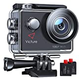 Victure AC420 Action Cam 14MP WI-Fi Full HD 1080P wasserdichte Sport Action Kamera 30M...