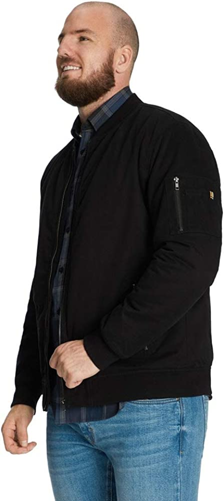 Johnny Bigg Neo Cotton Bomber Jacket Black 4XL