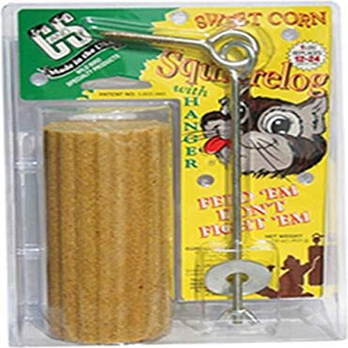 C & amp; s Produits Squirrelog avec le cintre CS610 - Pack de 12