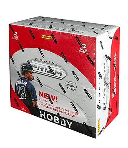 2020 Panini Prizm Baseball HOBBY box (12 pks/bx)