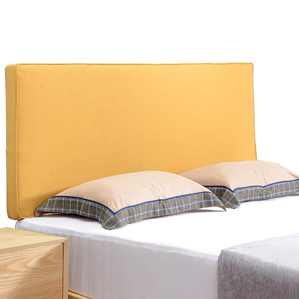 訪問等しいエンディングWZBヘッドボードベッドサイドクッションフラックスシンプルモダン通気性取り外し可能、洗えるウエスト、4色、8サイズ(色:B、サイズ:200x8x70cm)を保護します。