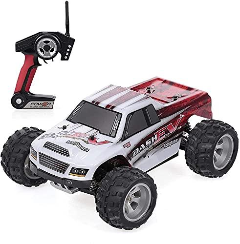 CUUGF 70 Km/H Alta Velocidad Hobby Juguetes Vehículos Control Remoto Coche Todo Terreno RC Camiones Potentes 2,4 GHz 4WD 1:18 Carreras Escalada Coches Radio Rock Crawler Buggy para niños Regalo
