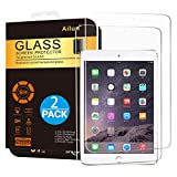 Ailun Screen Protector for iPad Mini 1 2 3 Tempered Glass 9H Hardness 2Pack Compatible with Apple iPad Mini 1 2 3 Ultra Clear 2.5D Edge Anti Scratch Case Friendly