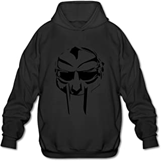 Men's Mf Doom Logo Hoodie Sweatshirt