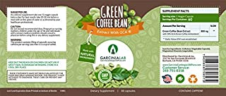 Green Coffee Bean Extract 100% Pure 1600MG Daily Serving Weight Loss Supplement 50% Chlorogenic Acid Max Strength Natural ...