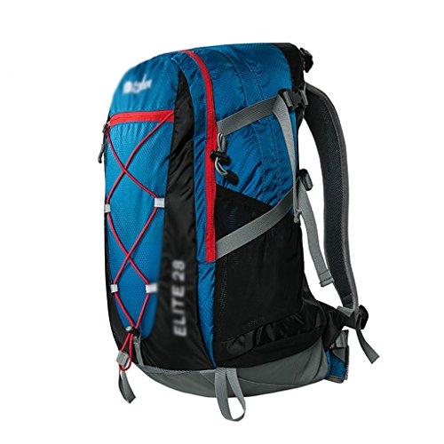 sac à dos randonnée Alpinisme Voyage à dos de randonnée 28L Sac de voyage hommes et les femmes Sacs à dos de randonnée ( Couleur : Royal Blue , taille : 28L )