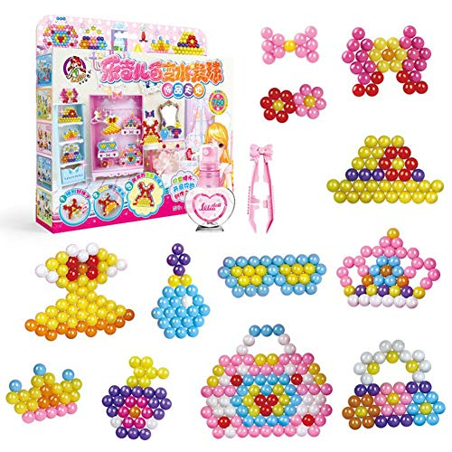 smilerr Water Fuse Beads Magic Beads, Water Concealed Bead Jigsaw Toy, DIY...