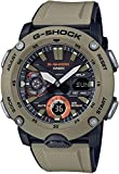 CASIO Herren Analog – Digital Quarz Uhr mit Resin Armband GA-2000-5AER