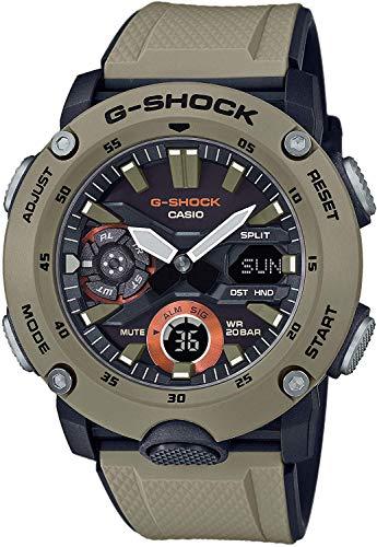 Casio Reloj para de Cuarzo con Correa en Goma GA-2000-5AER