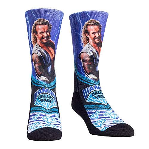 Rock 'Em WWE Walkout Socken, Diamond Dallas Page Ddp, Large-X-Large