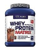 Victory Whey Protein Matrix Chocolate, 2 kg. Proteina de suero de leche. Promueve el crecimiento muscular.