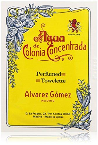 Álvarez Gómez - Toallitas Refrescantes Perfumadas con aroma Colonia Clásica - 10 unidades