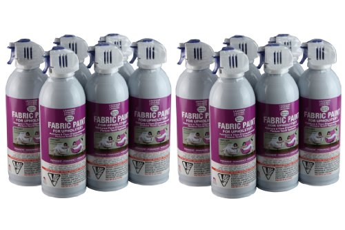 Simply Spray Upholstery Fabric Spray Paint 12 Pack - Lavender- Dries Soft