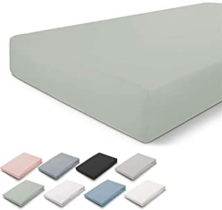 Walra Drap-Housse 80x200, 100% Coton, s'adapte Parfaitement à la Forme du Matelas, Toucher Doux, Infroissable et sans Repa...