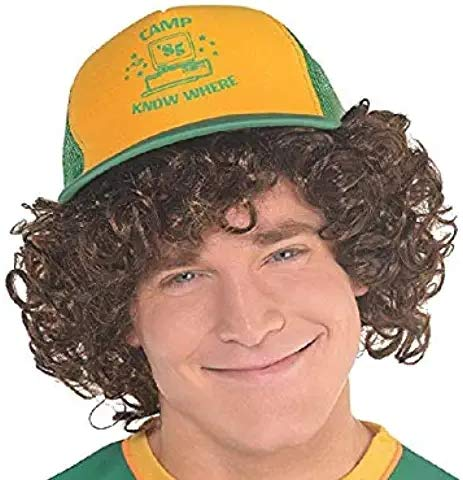 Sombrero Dustin de Béisbol del Personaje, Gorra Hihop Cosplay Halloween Strange...