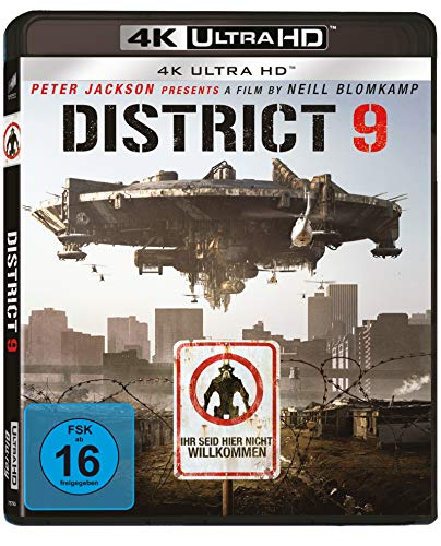 District 9 (4K Ultra HD) [Blu-ray]