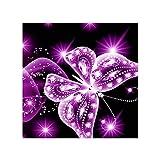 Qinghengyong Diamond Animal Pintura Kits de Diamante Completa decoración de la Completo decoración de la Pared del Bordado de Punto de Cruz Artes Artesanía, Rosa