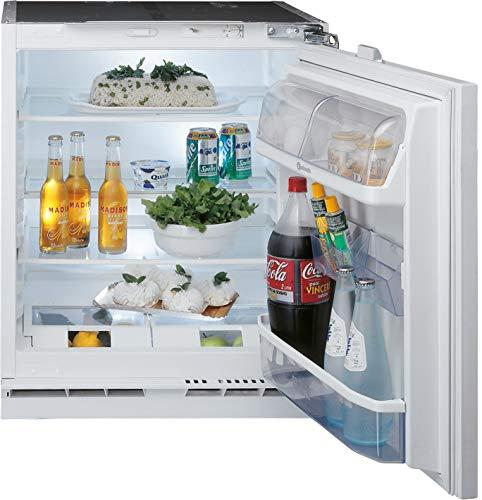 Bauknecht KSU 8VF1 Unterbau-Kühlschrank (Nische 82) / Gesamtnutzinhalt: 144 Liter/ Abtauautomatik im Kühlteil / Einfache Festtürmontage SUPERSETM0