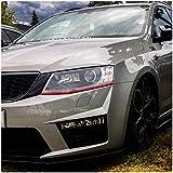 Tiras de estilo Devil Eye para Faro de automóvil, de Finest Folia, para Volkswagen Golf 7654GTI GTD Passat B8B7