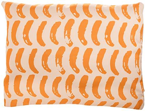 Bonamaison Fundas para Cojínes, Naranja-Blanco Apagado (para Sofá Coche Silla Oficina Cama) 45x60 Cm - Diseñado y Fabricado en Turquía (TRGCPC102179X4560)