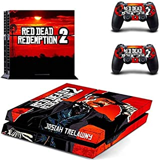 Gaming - PS4 Skin Console - PS4 Controller Skin Cover Vinyl Decal Protective by Babita Dogra
